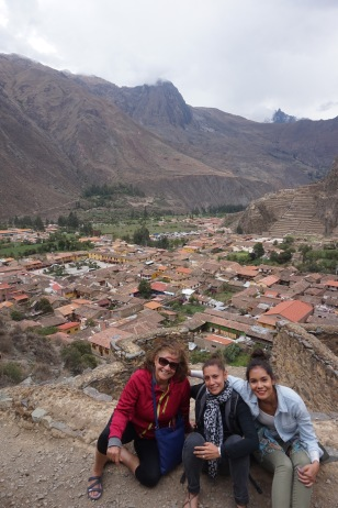An incredible view of Ollantaytambo